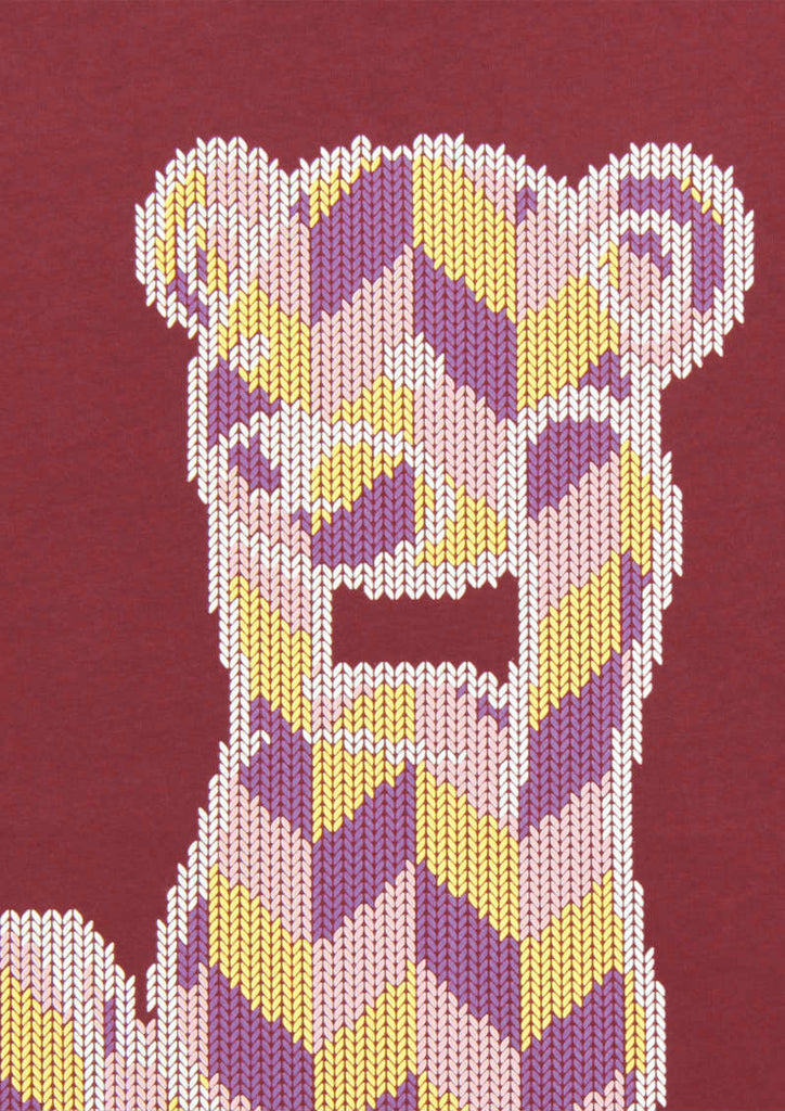 Knitting Control Bear