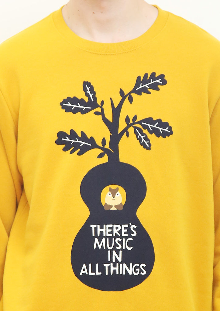 Basic Long Sleeve Sweat (Nature Guitar)