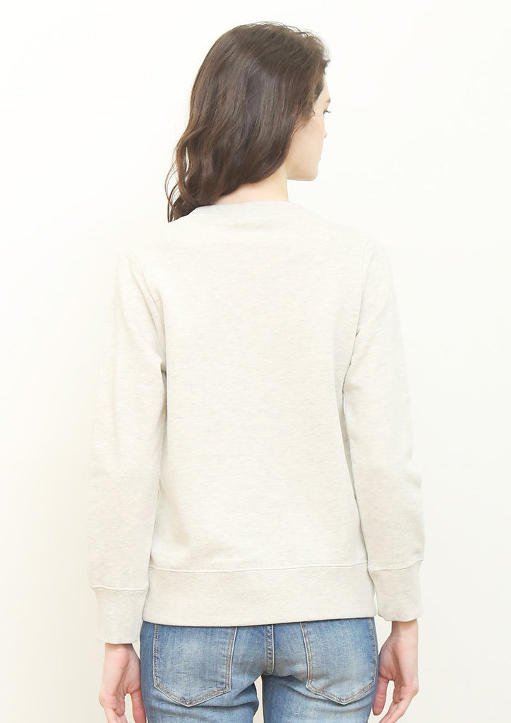 Basic Long Sleeve Sweat (Push Burger)