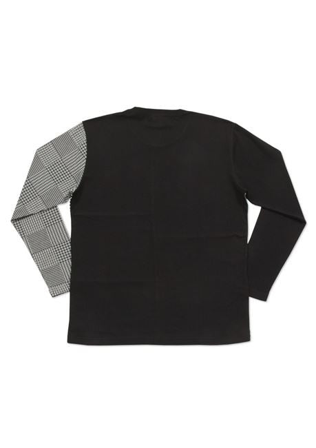 Crazy Pattern Long Sleeve Tee (Check Pattern)