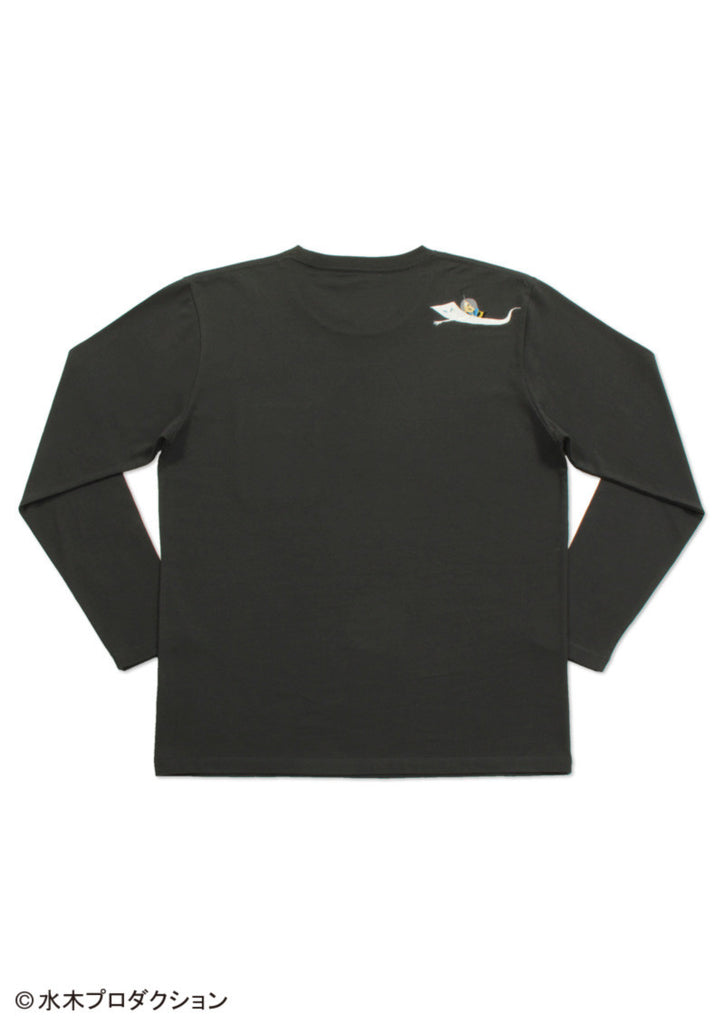 Nurikabe Pocket (GeGeGe no Kitaro Long Sleeve Tee)