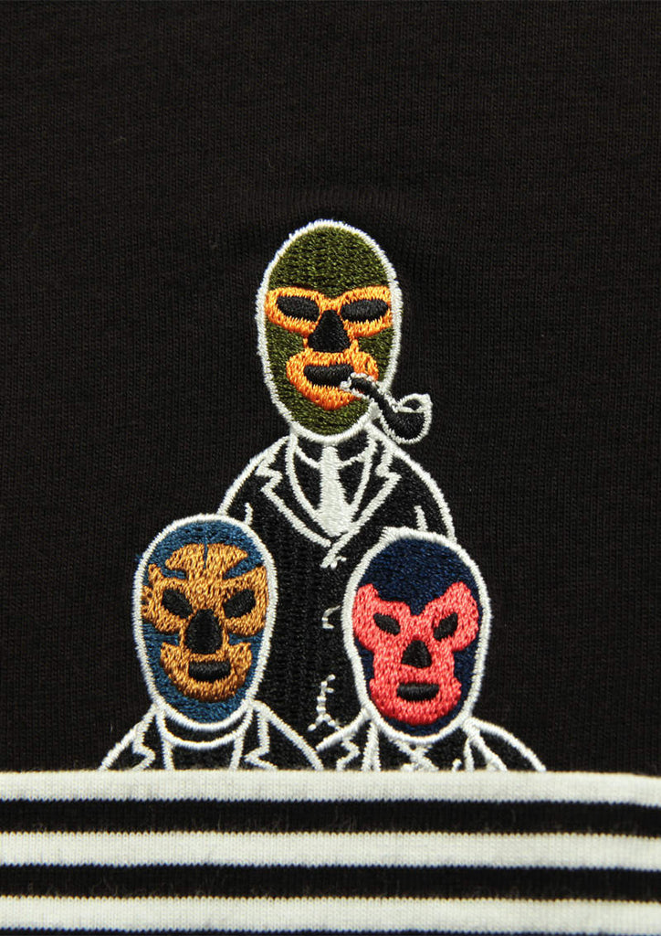 Emblem Pocket Long Sleeve Tee (Lucha Libre Team)