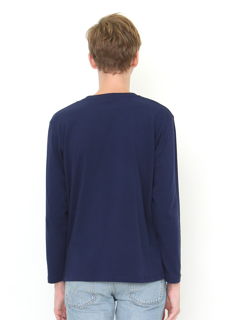 BS Pocket Long Sleeve Tee (Ghost BS)