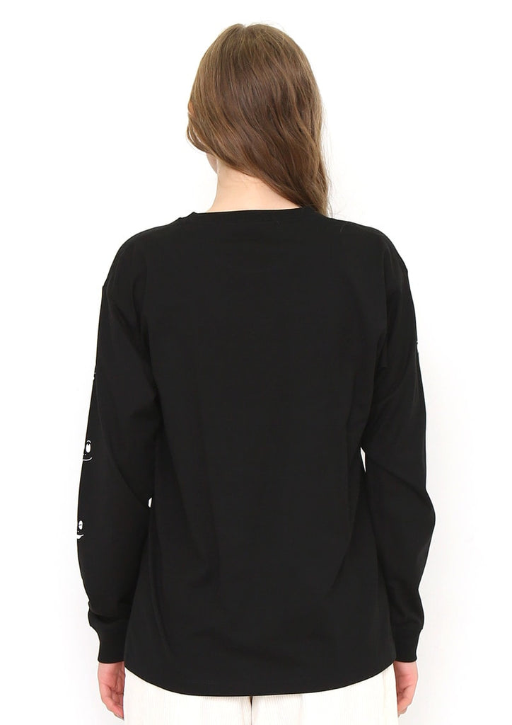 BARBAPAP Long Sleeve Tee (BARBAPAPA_Barbabeau Face)