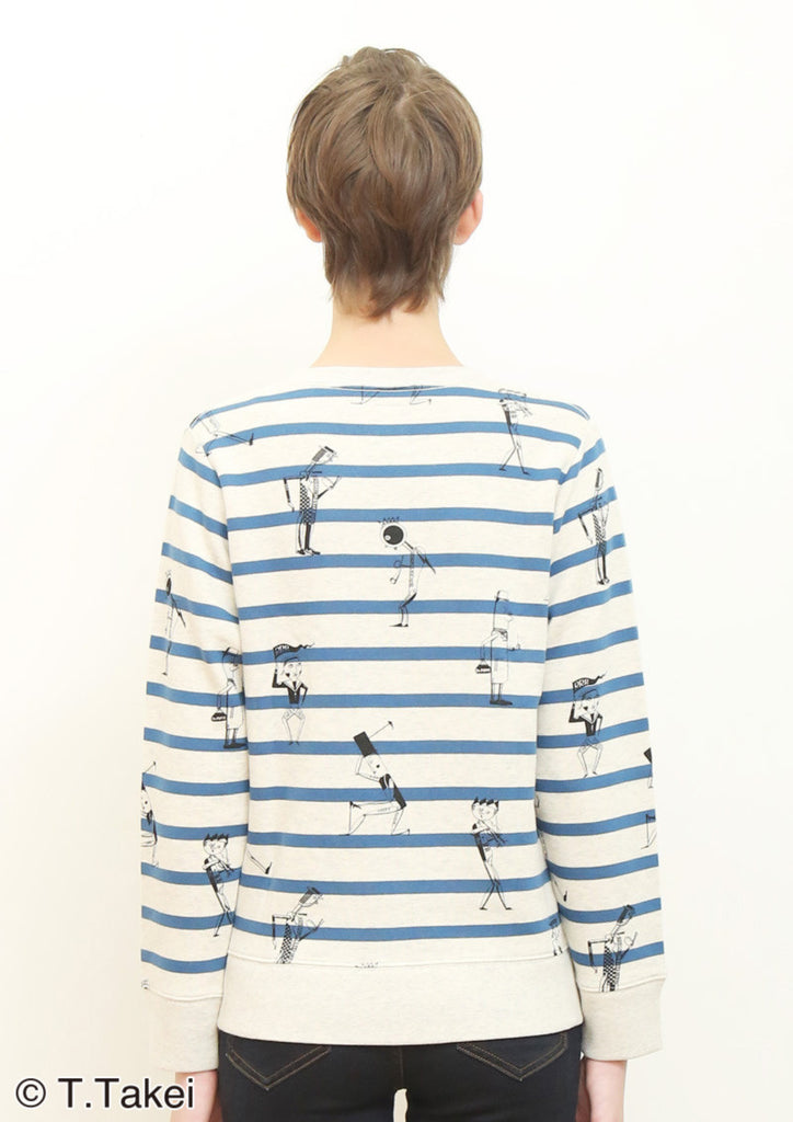 Toy Box (Takeo Takei Long Sleeve Sweat)