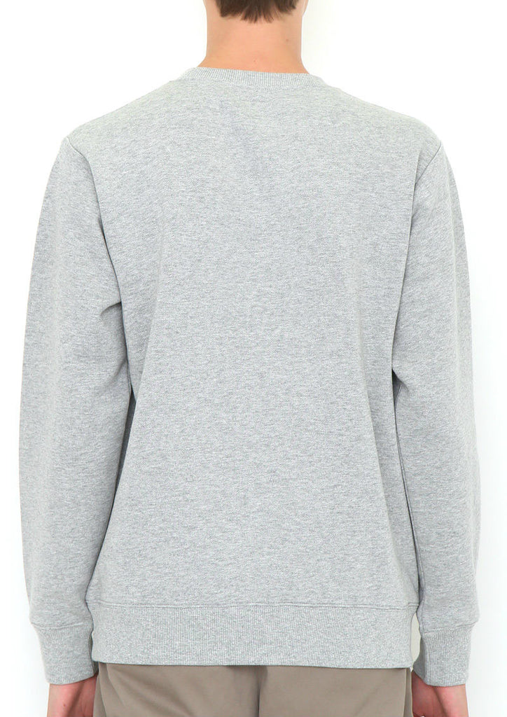 Needle Punch Long Sleeve Sweat (SK8 BS)