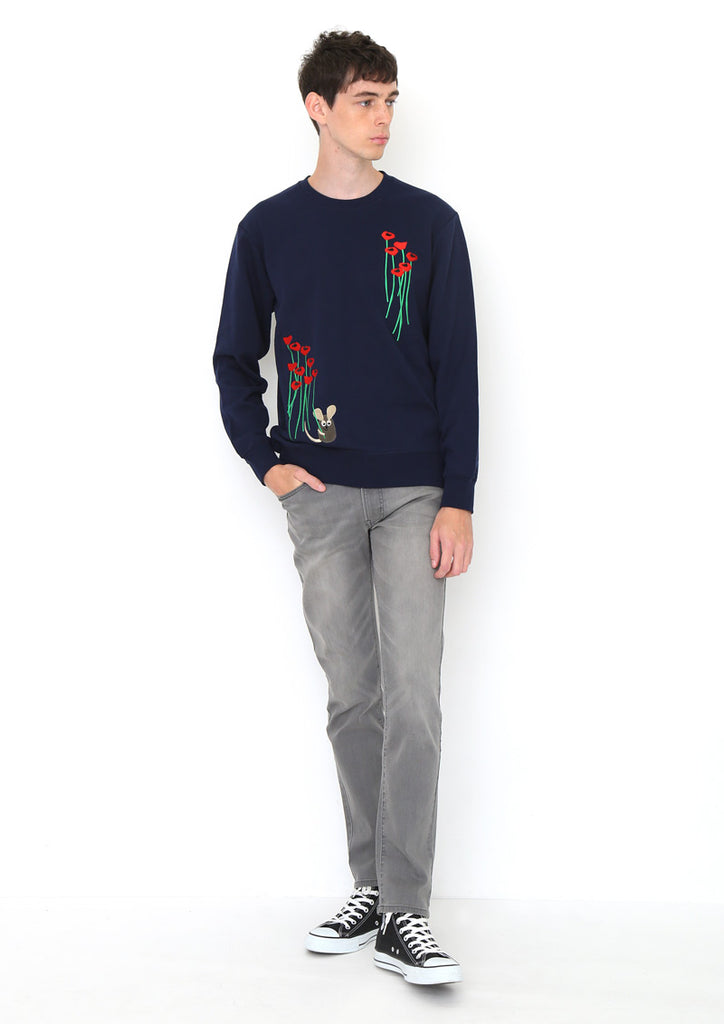 Leo Lionni Long Sleeve Sweat B (Leo Lionni_Frederick in the Flower Garden)