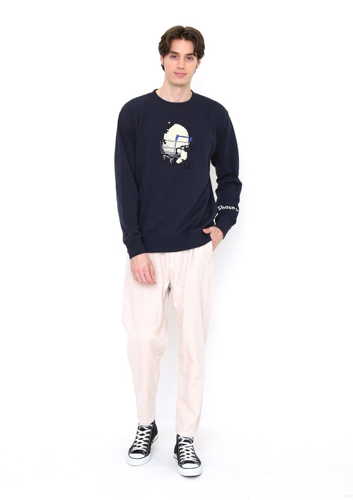 Shaun the Sheep Long Sleeve Sweat (Shaun the Sheep_Shaun and Shirley)
