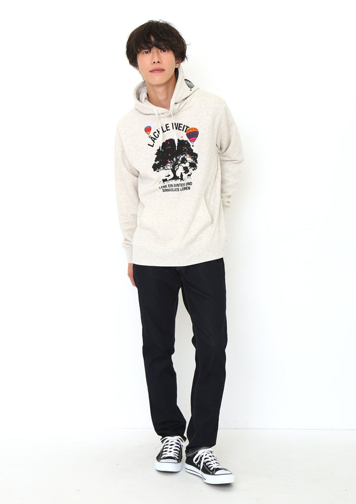 Long Sleeve Hoodie (Keep Smiling)