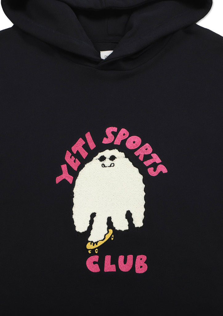Graphic Long Sleeve Hoodie (Yeti Club)