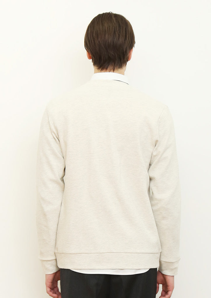 Woven Pocket Cardigan (Heather Natural)