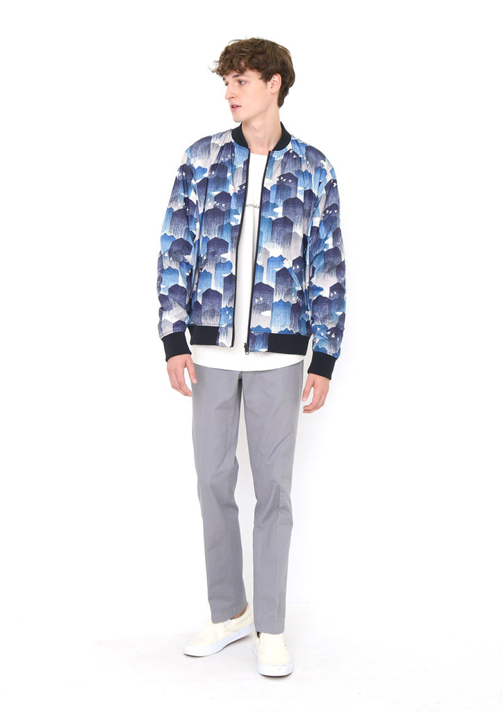 Reversible Blouson (Hazy Mountain)
