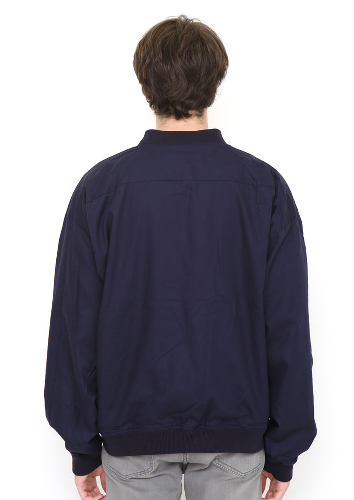 Drop Shoulder Reversible Blouson (Woven Paper)