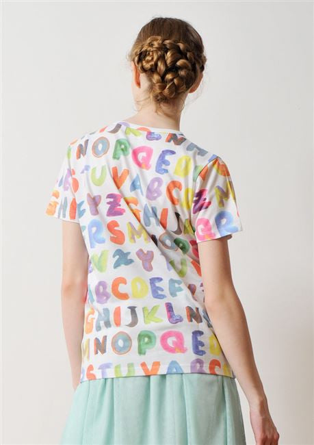 Soft Multi Pattern Short Sleeve (Play With Alphabets)