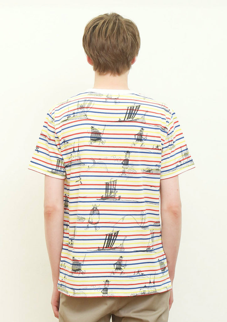 Viking Pattern (Ewert Karlsson Short Sleeve Tee)