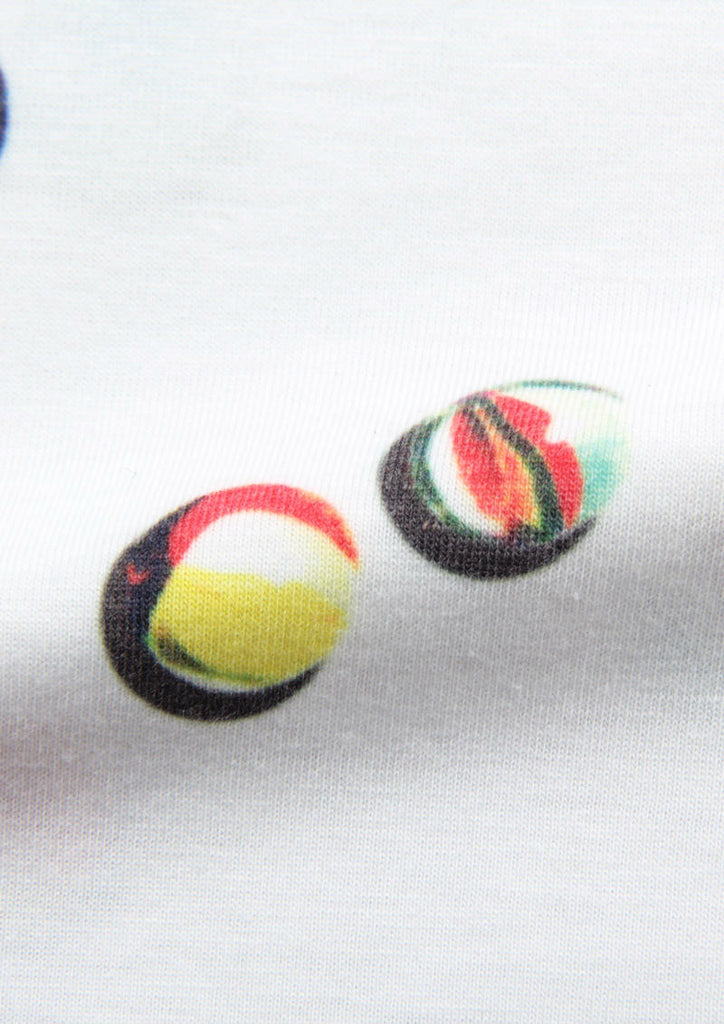 Soft Multi Pattern Short Sleeve Tee D (Play Marbles)