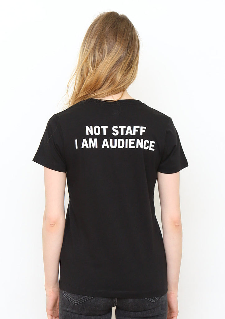Music Short Sleeve Tee (Fake Staff)