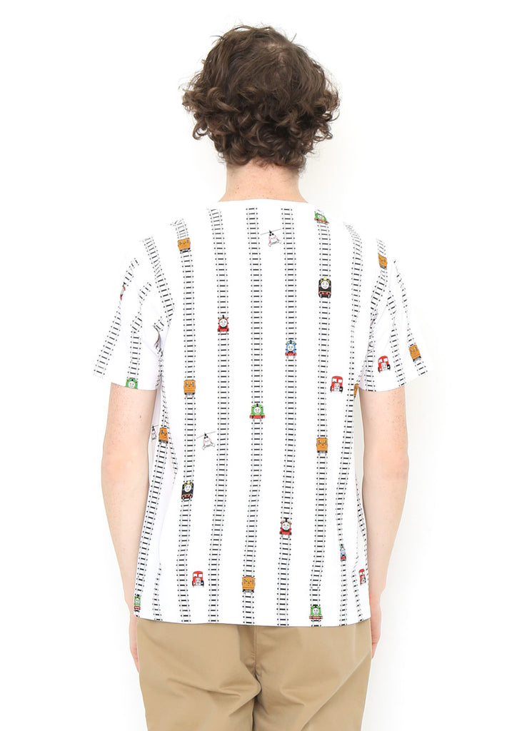 Thomas and Friends Short Sleeve Tee (Thomas and Friends_Railway Track Stripe)