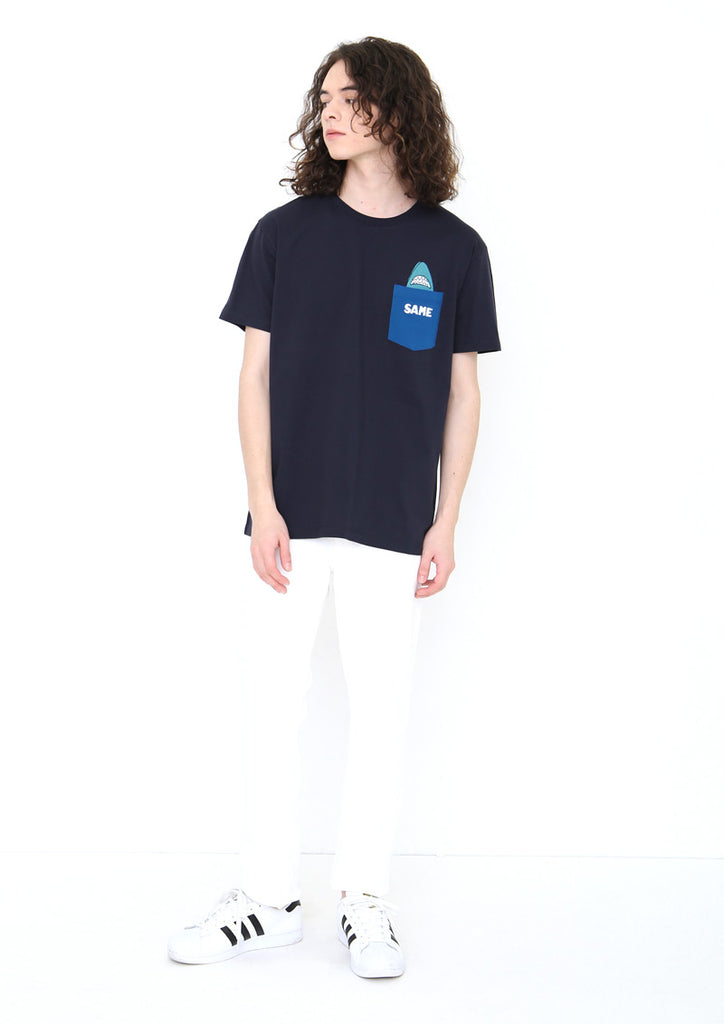 Ocean Short Sleeve Tee A (Fear of Sharks)