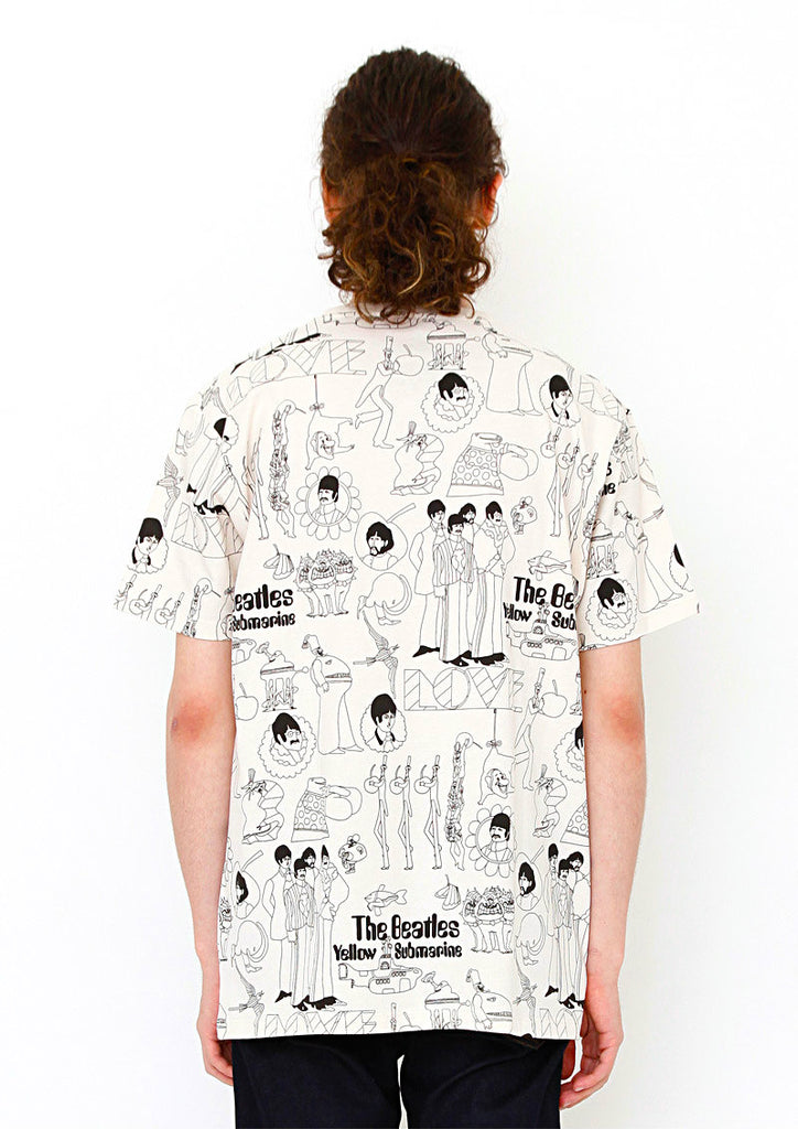 The Beatles Short Sleeve Tee (The Beatles_Yellow Submarine Love)