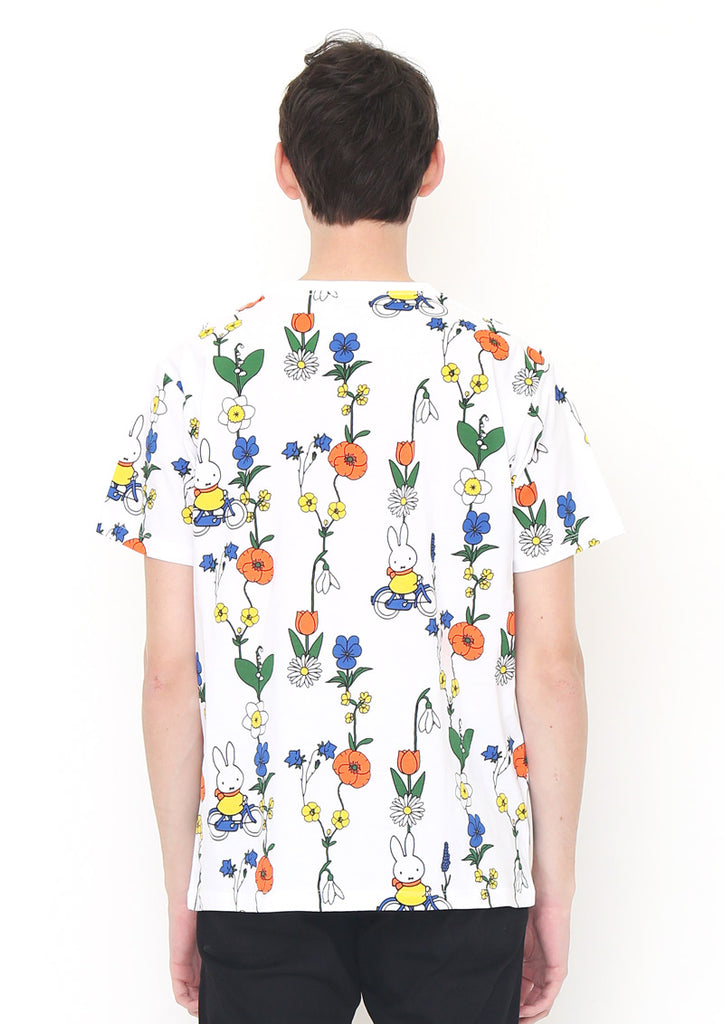 miffy Multi Pattern Short Sleeve Tee (miffy_Flower and miffy)