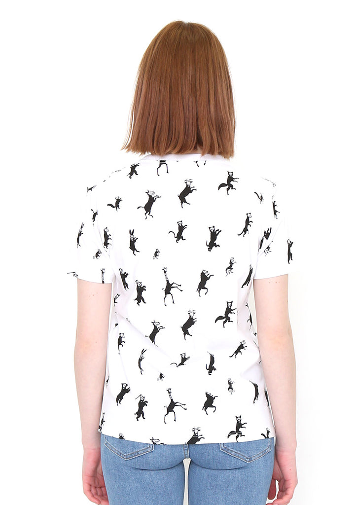Multi Pattern Short Sleeve Tee (Dance with Thrill Pattern)