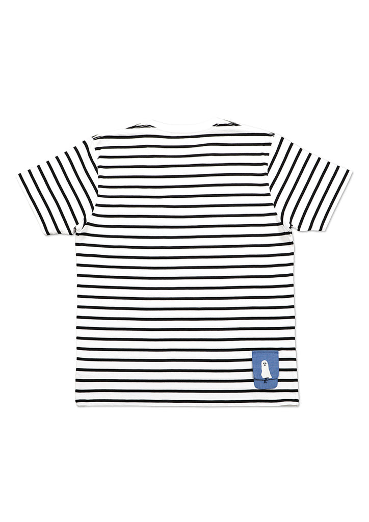 BS Pocket Border Short Sleeve Tee (Ghost BS in Pokets)