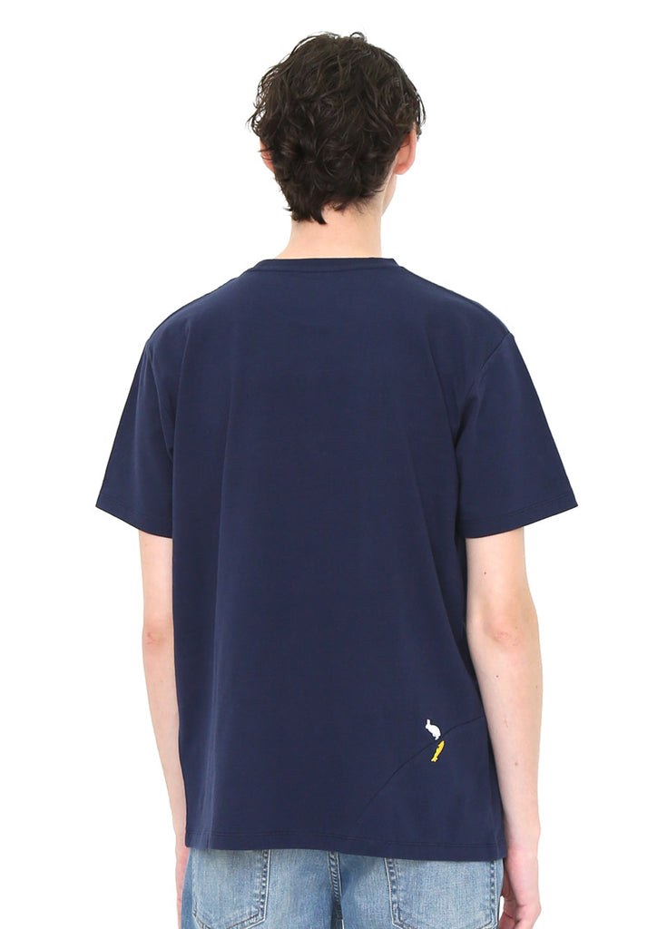 Panel Short Sleeve Tee B (Animals Procession)