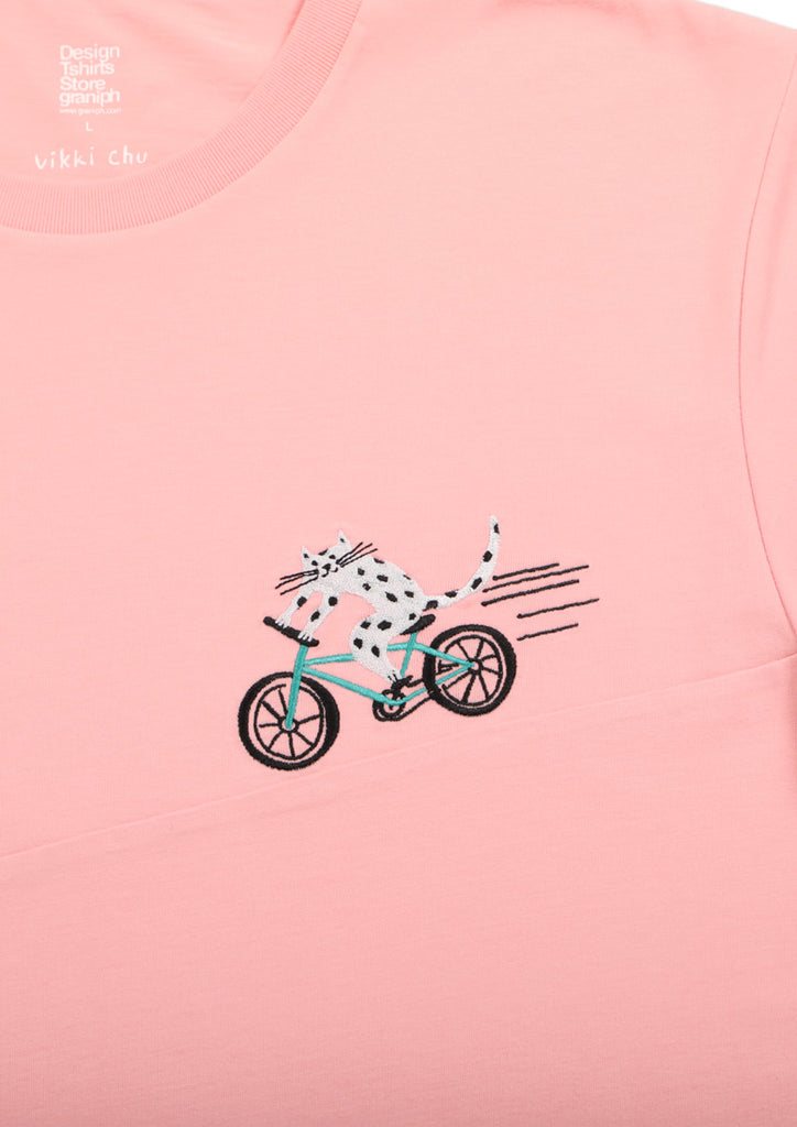 Vikki Chu Short Sleeve Tee (Vikki Chu_Cat Bike)