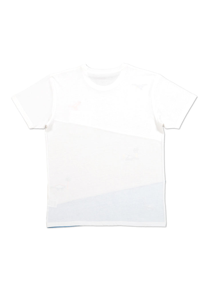Panel Short Sleeve Tee C (Dinosaur Island)