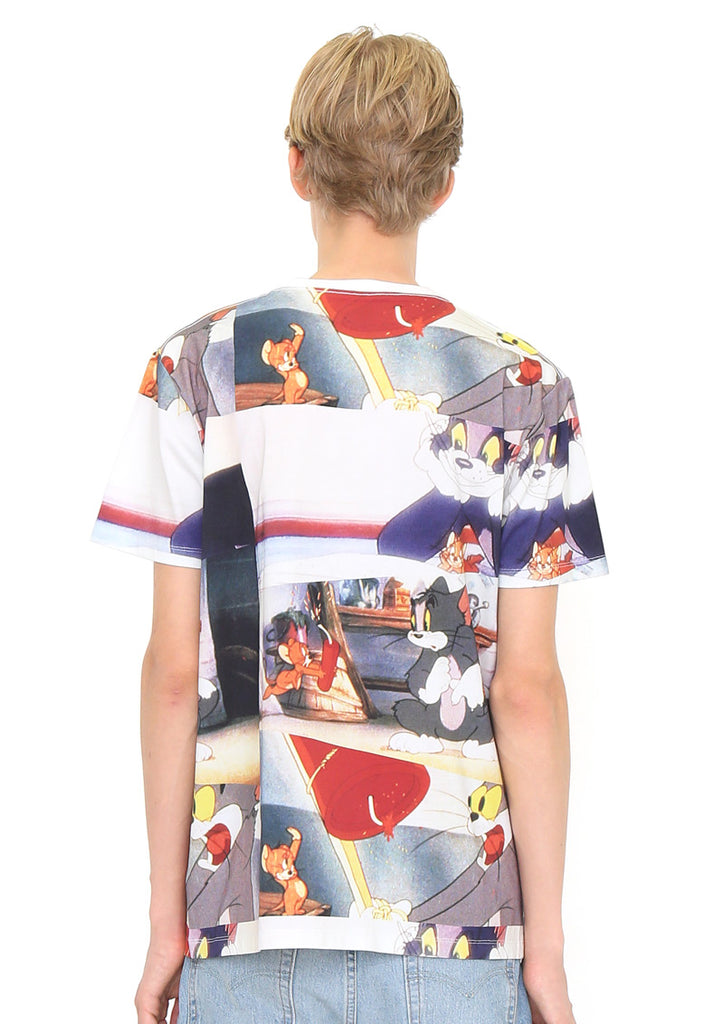 Tom and Jerry Multi Pattern Short Sleeve Tee B (Tom and Jerry_Dynamite)
