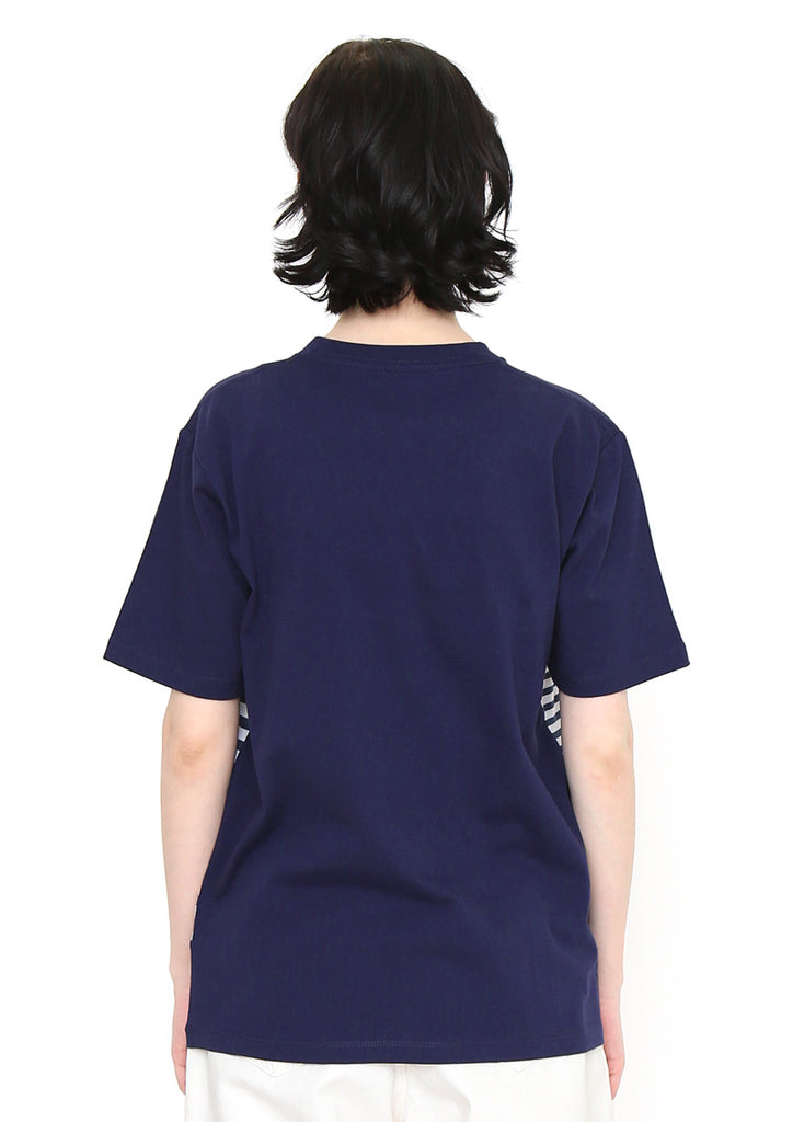 Panel Short Sleeve Tee (Cutting Border BS)