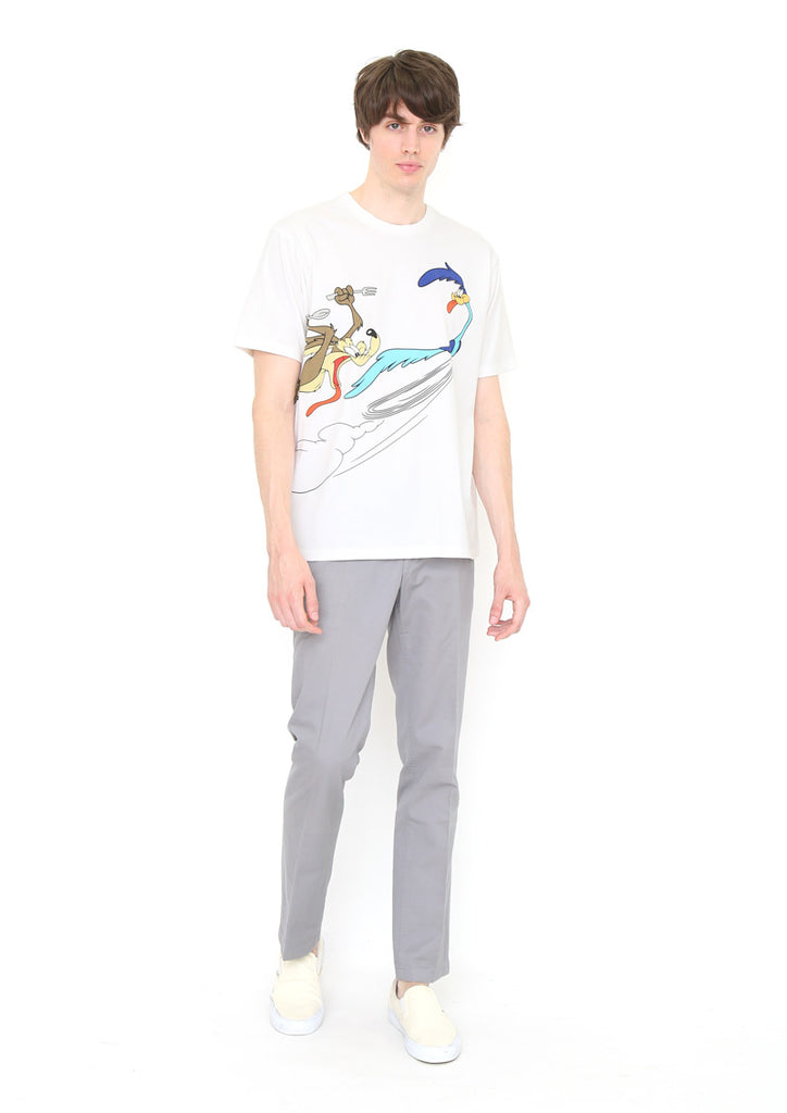 Looney Tunes Short Sleeve Tee (Looney Tunes_Wile E. Coyote vs Road Runner)