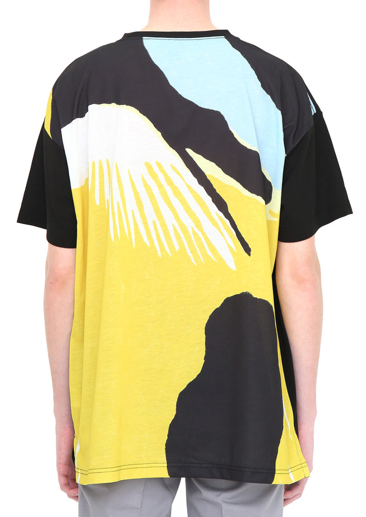 Dry Mix Back Fish Short Sleeve Tee (Tropical Fish Fantasy 02)