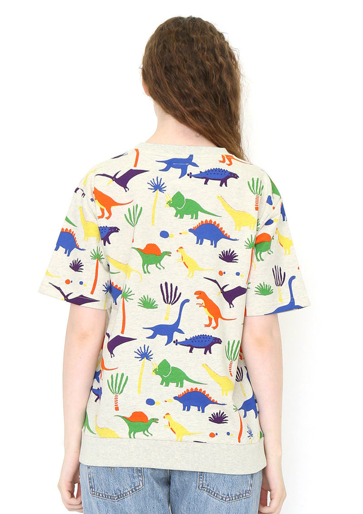Short Sleeve Sweat (Little Dinosaurs)