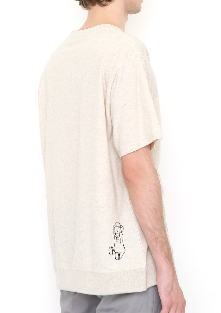Shaun the Sheep Short Sleeve Sweat (Shaun the Sheep_Shaun and Control Bear)