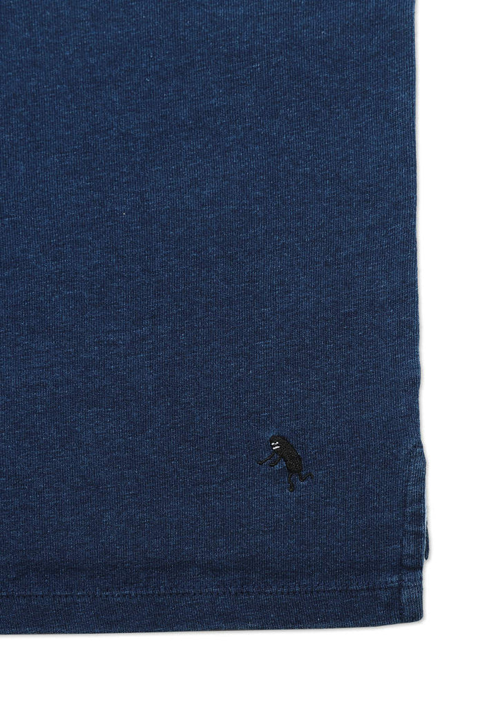 Big Silhouette Indigo Half Sleeve Tee (Saturday Night BS)