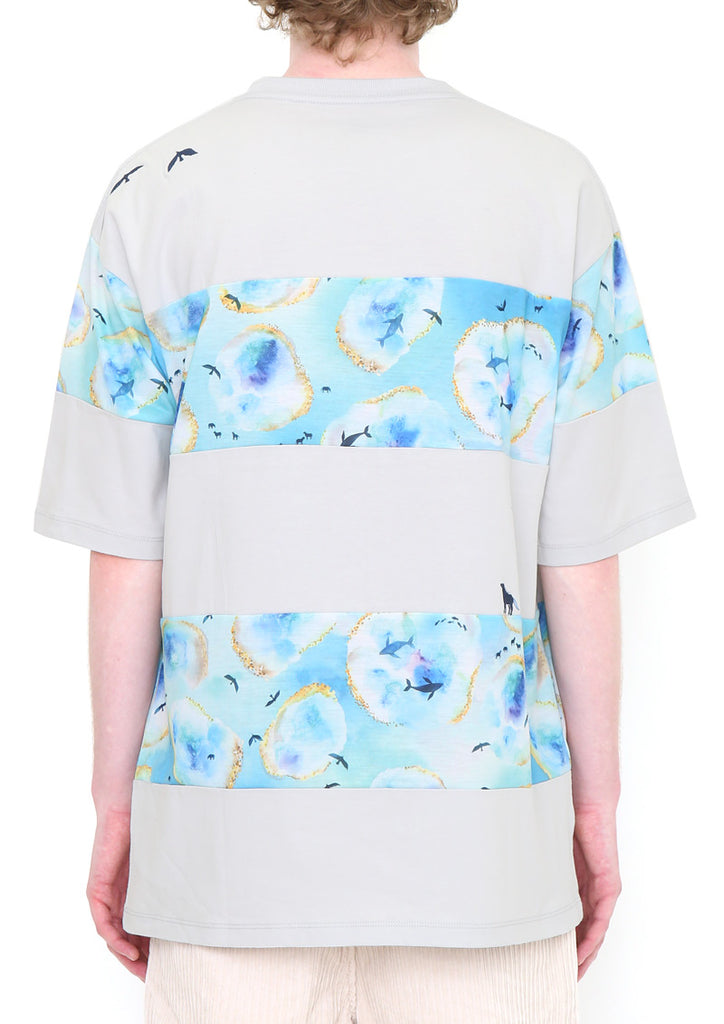 Panel Big Silhouette Short Sleeve Tee (Glacial Lake)