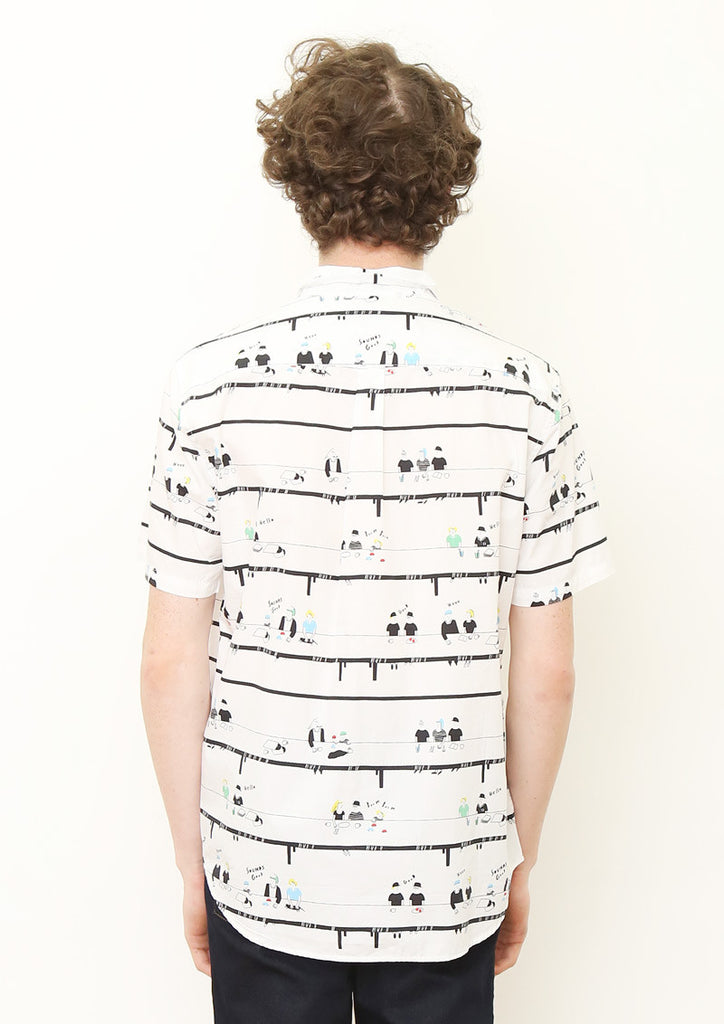 Multi Pattern Short Sleeve Shirt (Our Table)