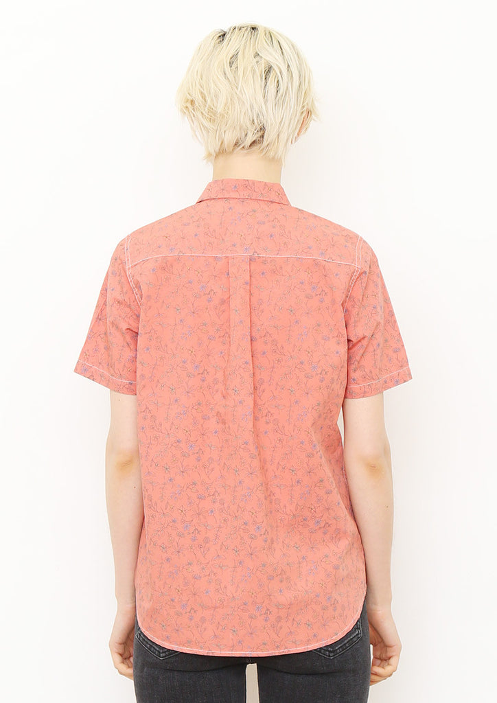 Multi Pattern Short Sleeve Shirt B (Wild Grass)
