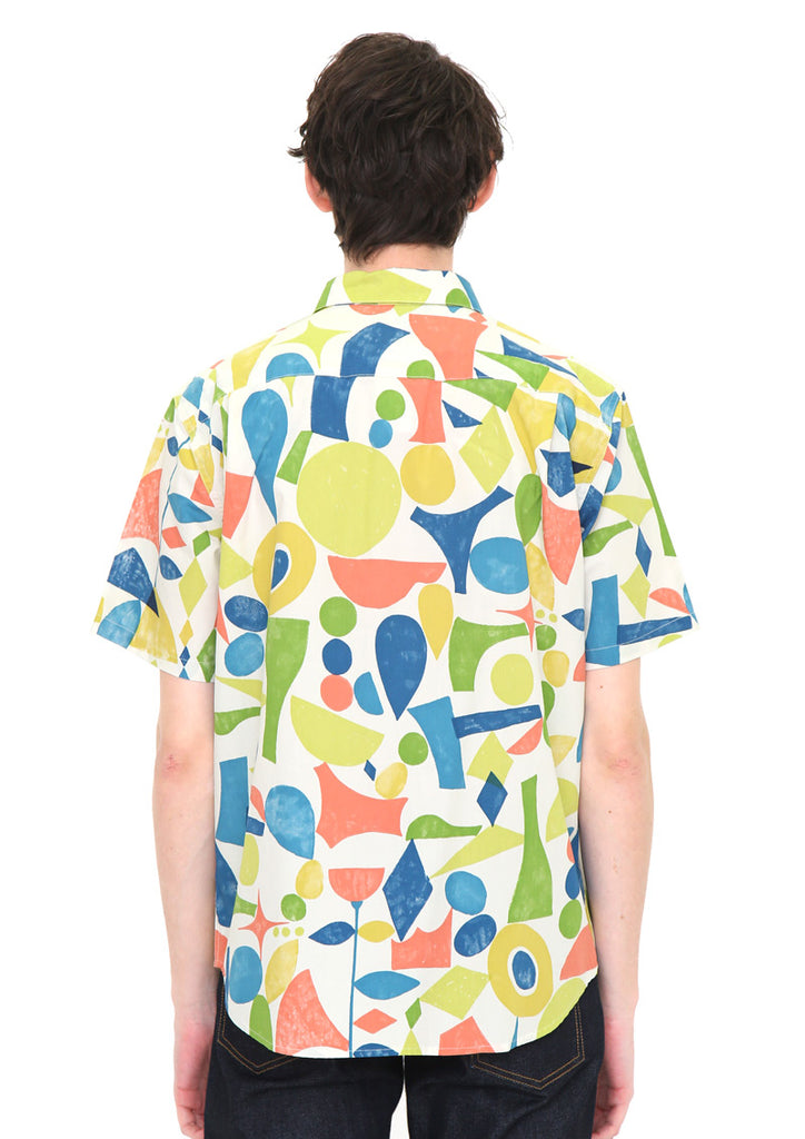Multi Pattern Short Sleeve Shirt (Lively Peaces)