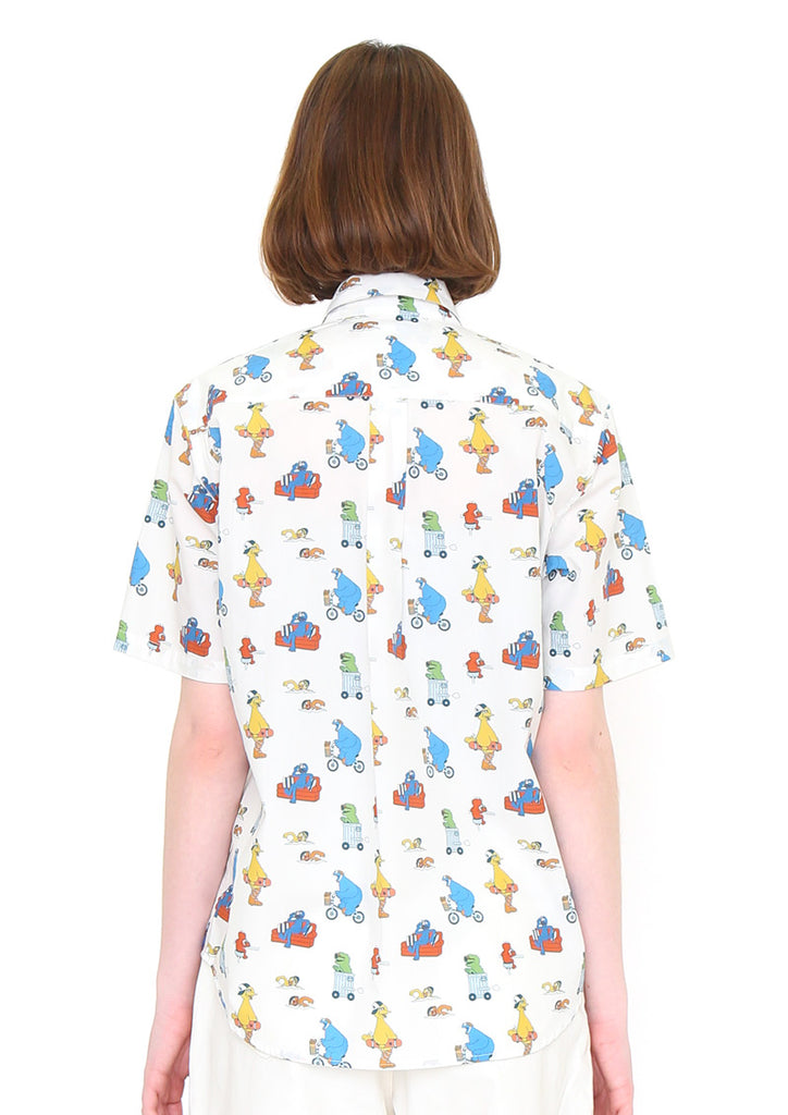 Sesame Street Short Sleeve Shirt (Sesame Street_Colorful Pattern)