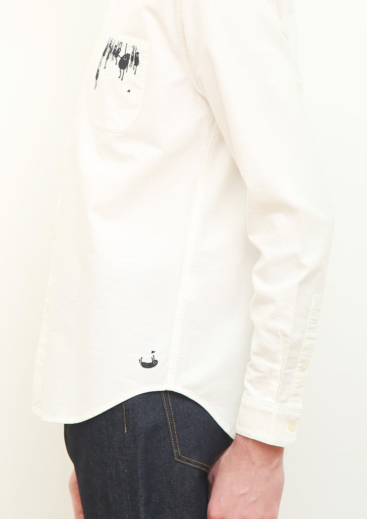 BS Pocket Long Sleeve Shirt (Hanging BS)