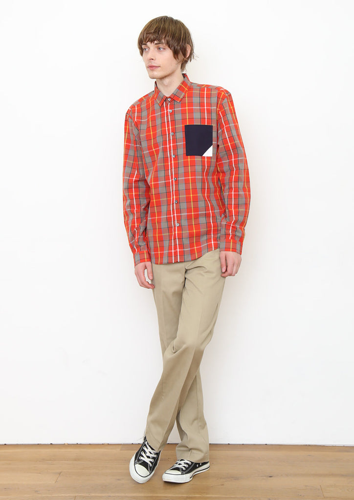 Long Sleeve Check Shirt (An Investment)