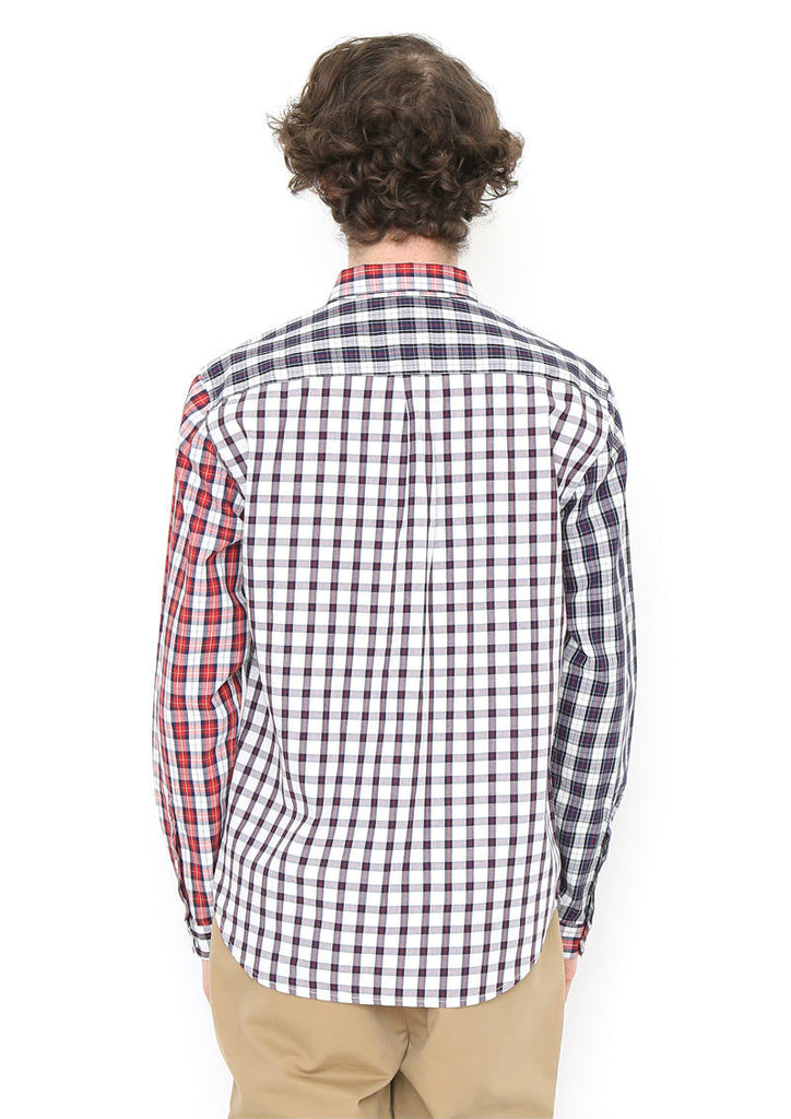 Crazy Pattern Long Sleeve Shirt