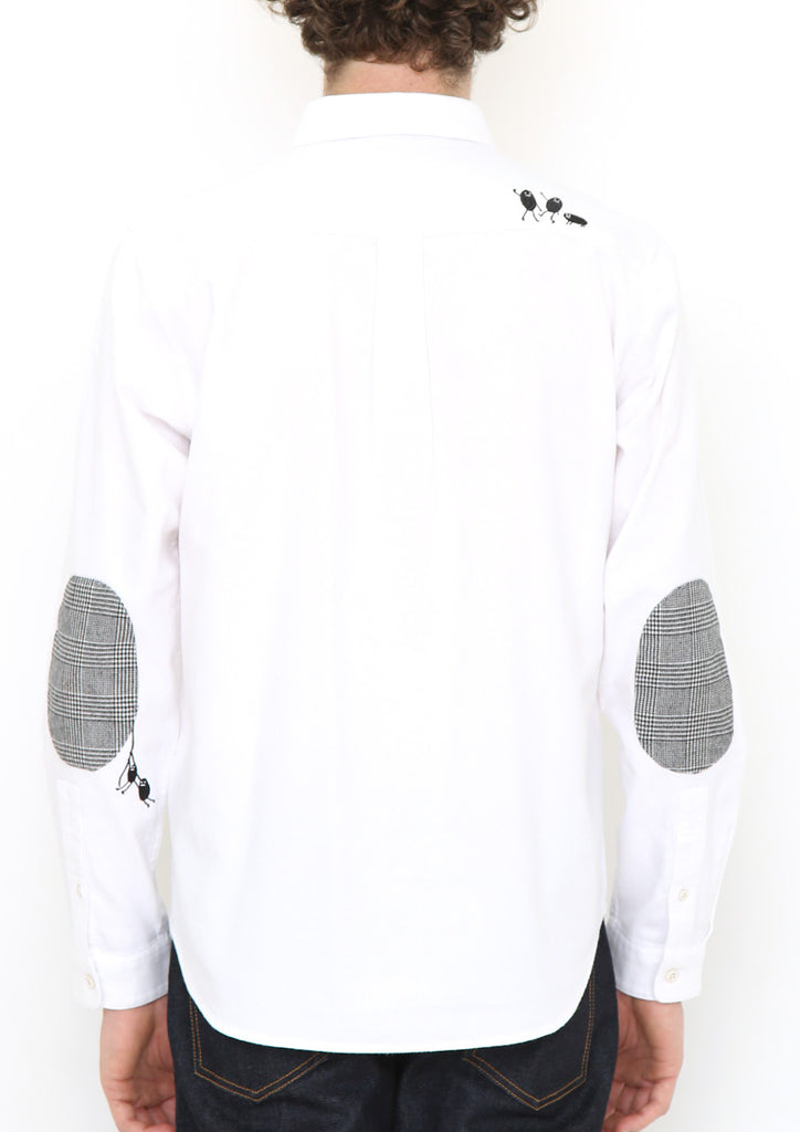 BS Elbow Patch Long Sleeve Shirt (Playing BS)