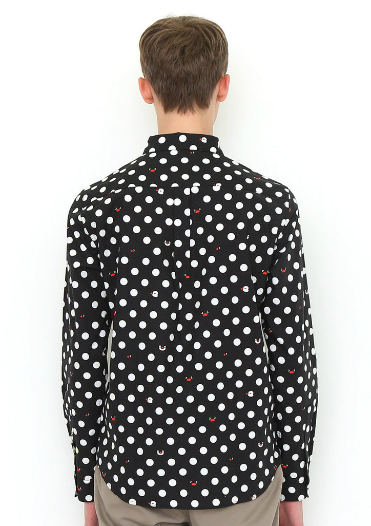 Pingu Long Sleeve Shirt (Pingu_Pingu and Pinga Dot)