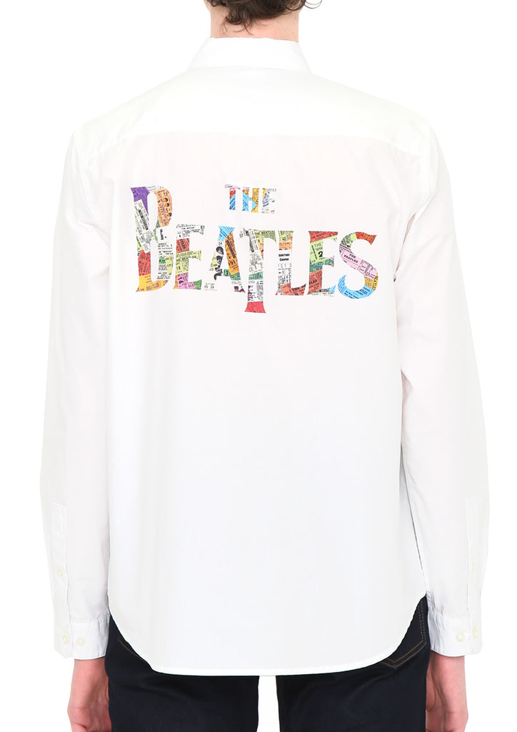 The Beatles Long Sleeve Shirt (The Beatles_Ticket Logo)