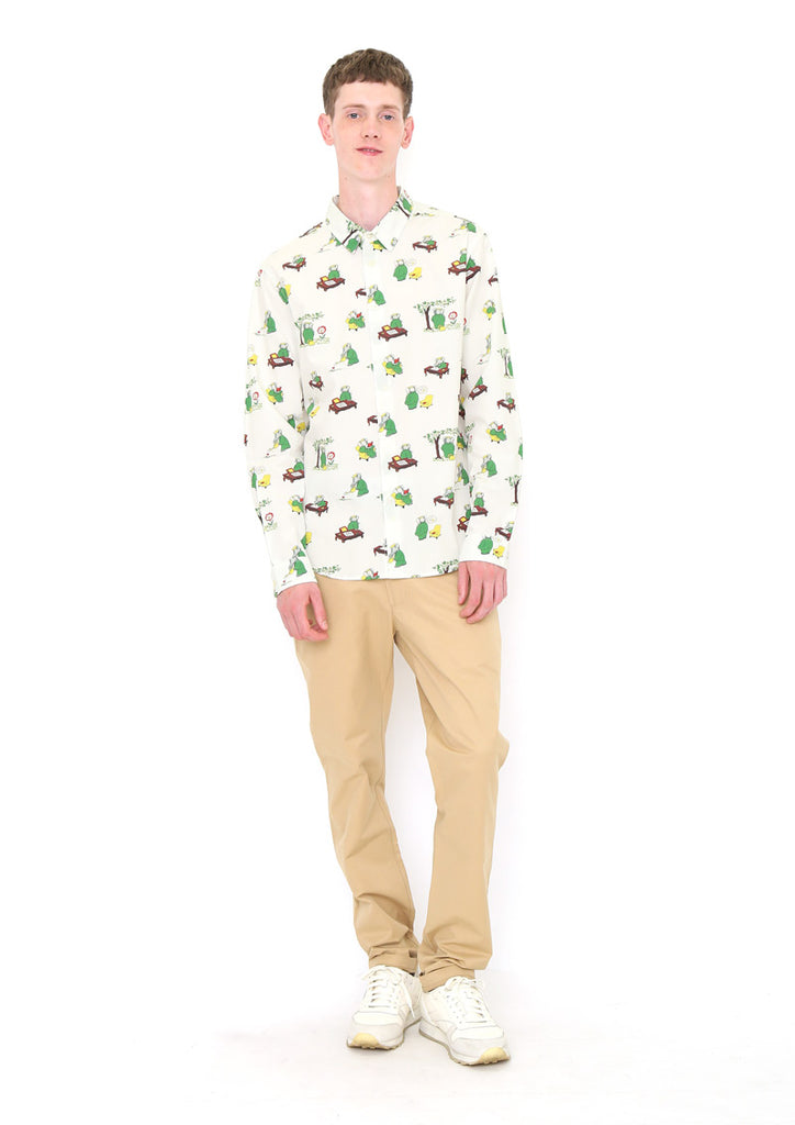 BABAR Long Sleeve Shirt B (BABAR_Colorful Pattern)