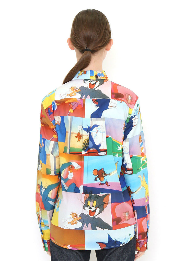 Tom and Jerry Long Sleeve Shirt (Tom and Jerry_Animation Pattern)